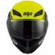 Casque AGV COMPACT ST COURSE Noir/Jaune face