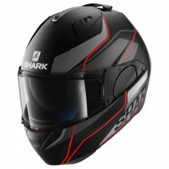 Casque Shark Evo-one Krono mat noir/rouge