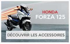 Accessoires FORZA 125 Honda