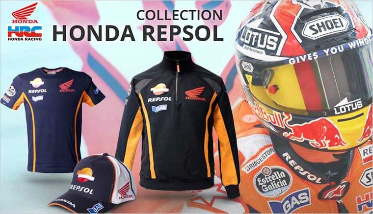 Vêtements MotoGP Replica de la marque Honda Repsol
