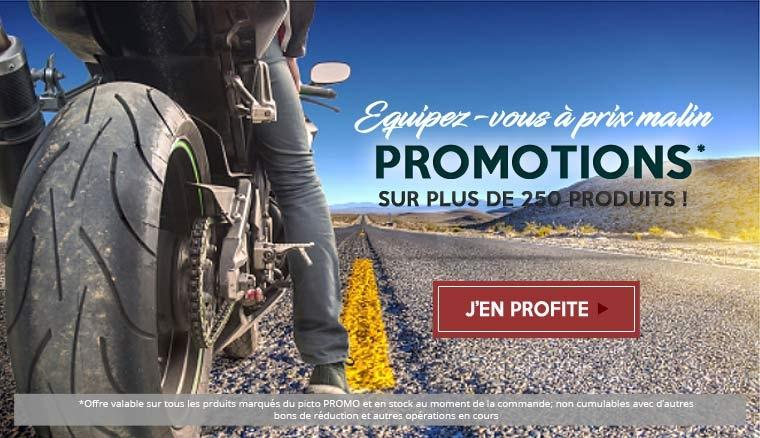 Promotions équipements pilote et moto chez Japauto