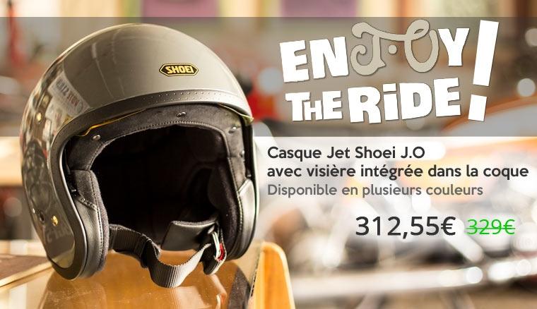 Casque Jet Shoei J.O
