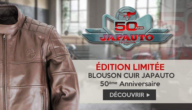 Blouson en cuir Japauto 50è anniversaire
