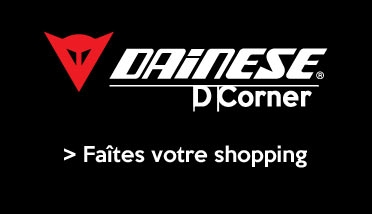 Corner Dainese chez Japauto-accessoires.com
