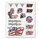 Planche Stickers Nicky Hayden Big