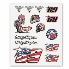Planche Stickers Nicky Hayden Big