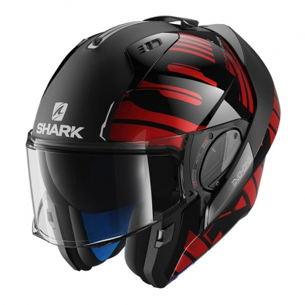 casque modulable shark evo one 2 lithion rouge casque shark modulable japauto accessoires. Black Bedroom Furniture Sets. Home Design Ideas