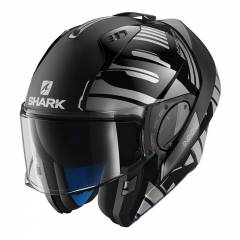 Casque modulable Shark Evo One 2 Lithion noir