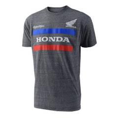 T-shirt Honda TLD Gris de face