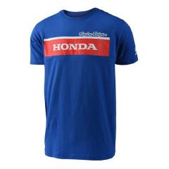 T-shirt Honda Wing Bloch Bleu