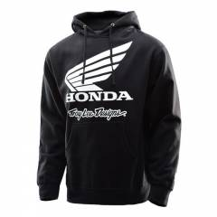 Sweat à capuche Honda Wing Noir