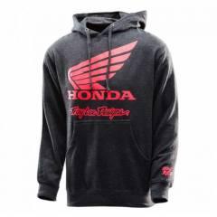 Sweat à capuche Honda Wing Gris