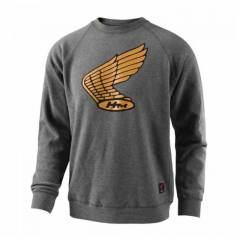 Sweat Honda Wing Crew Gris