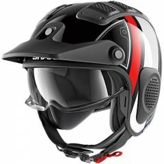 Casque Shark X-Drak Terrence Rouge