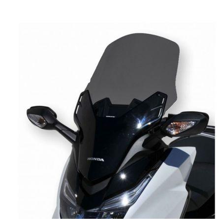 Pare-brise Ermax +10cm Noir foncé pour Forza 125 Honda
