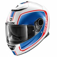 Casque Shark Spartan 1.2 Priona Bleu/Blanc/Rouge - Couleurs multiples