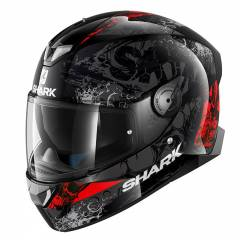 Casque Shark SKWAL 2 NUK'HEM - Rouge