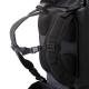 Bretelles et dos matelassés du sac-à-dos Ubike Cylinder Bag 50L Noir