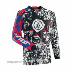 Maillot cross Thor S4Y Phase Volcom Enfant