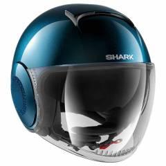 Casque Shark Nano Crystal Swaroski Blanc Pastel