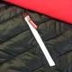 Les poches zippées sont équipées de tirettes marquées Honda