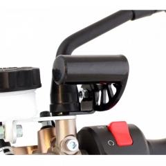 Le réhausseur IN28 de Chaft permet d'ajouter un équipement sans encombrer le guidon