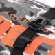 Ubike équipe son Square Bag de sangles à attache rapide pour un ajustement optimal