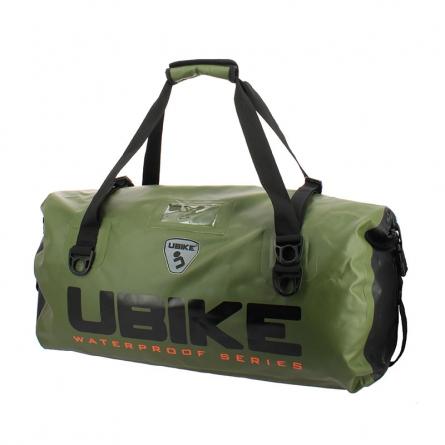 Deux anses permettront au sac Ubike Duffle Kaki d'être transporté facilement