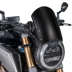Saute Vent Classic Barracuda CB650R / CB1000R - Noir