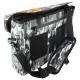 Le sac besace Ubike Messenger Camouflage dispose de rangement sous la face avant
