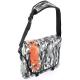 Le sac besace Ubike Messenger Camouflage dispose d'une bandoulière rembourrée pour le transport