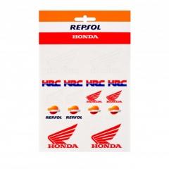 Planche Stickers Honda Repsol