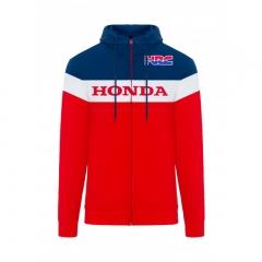 Sweat à capuche Zippé Honda HRC vue de face
