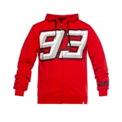 Sweat zippé à Capuche Marc Marquez BIG 93
