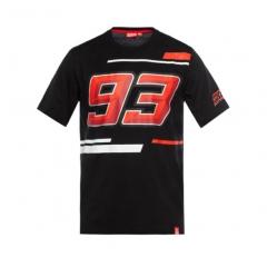 T-shirt 93 Marc Marquez - Noir