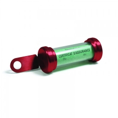 Porte-Vignette Chaft Tube - Rouge