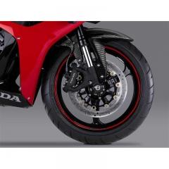 Liserés de Jantes Honda Racing CBR650R