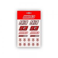 Planche Stickers Marc Marquez 93 Medium