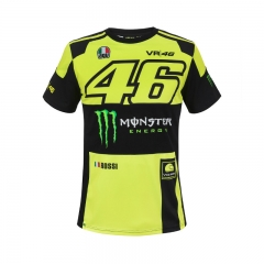 T-Shirt VR46 Replica Monza - Couleurs multiples