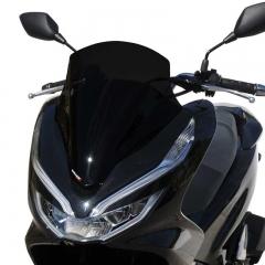 Pare-brise Taille Origine Noir Foncé Ermax PCX125