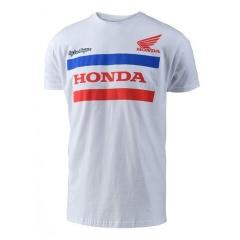 T-shirt Honda TLD Noir de face