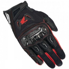 Gants SMX-2 AIR carbon v2 Honda Alpinestars Noir/ Rouge