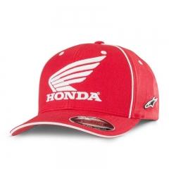 Casquette Honda Alpinestars Rouge