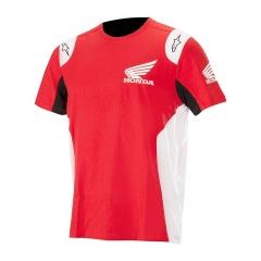 T-shirt Alpinestars Honda - Rouge