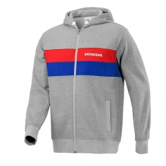 Sweat Zippé Honda Crew Origine - Gris