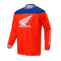 Maillot MX Honda - Rouge/Bleu