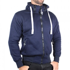 Sweat Moto Harisson Patriot - Bleu