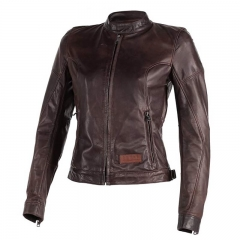 Blouson Cuir Dainese KEIRA Lady Dark Brown