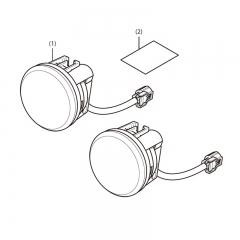 Feux Additionnels à LED Africa Twin 1100