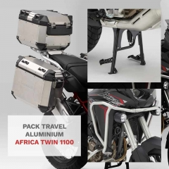 Pack Travel Aluminum Africa Twin 1100